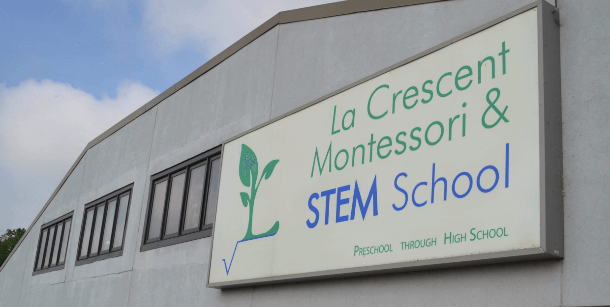 LMSS sign outside the building